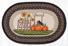 Braided Fall & Halloween Rugs