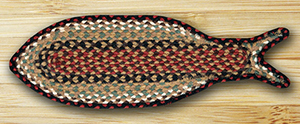 Braided Fish Rugs
