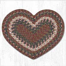 Cotton Braided Heart Placemats & Trivets