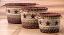 Burgundy Star Printed Jute Utility Basket, by Capitol Earth Rugs
