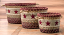 Burgundy Star Printed Jute Utility Basket, by Capitol Earth Rugs