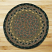 Brown, Black, and Charcoal Braided Jute Rug, by Capitol Earth Rugs