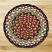 Burgundy and Mustard Braided Jute Rug, by Capitol Earth Rugs