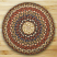 Round Honey, Vanilla, and Ginger Braided Jute Rug, by Capitol Earth Rugs