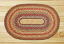 Round Honey, Vanilla, and Ginger Braided Jute Rug - the OVAL Rug