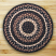 Round Mocha and Frappuccino Braided Jute Rug, by Capitol Earth Rugs