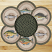 Fish Braided Jute Trivet Set, by Capitol Earth Rugs