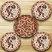 Kokopelli Braided Coaster Set, by Capitol Earth Rugs