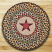Gold Star Printed Chair Pad, by Capitol Earth Rugs