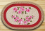 French Rose Oval Patch Rug, by Capitol Earth Rugs