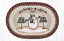 Moon Snowman Star Placemat, by Capitol Earth Rugs