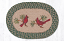 Cardinal Braided Placemat, by Capitol Earth Rugs