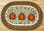 Harvest Pumpkin Braided Placemat