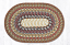 Honey, Vanilla, and Ginger Cotton Braided Placemat - Oval