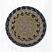 Brown, Black, and Charcoal Cotton Braid Trivet