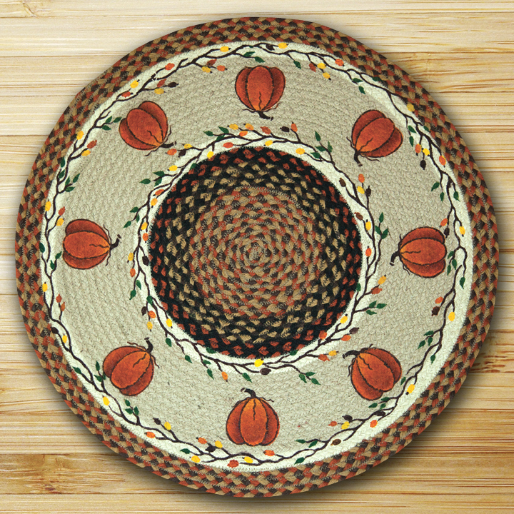 The Braided Rug Shop :: Braided Rugs (with Artwork