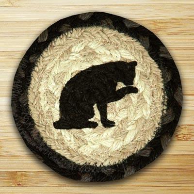Cat Jute Coaster