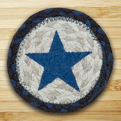 Blue Star Jute Coaster
