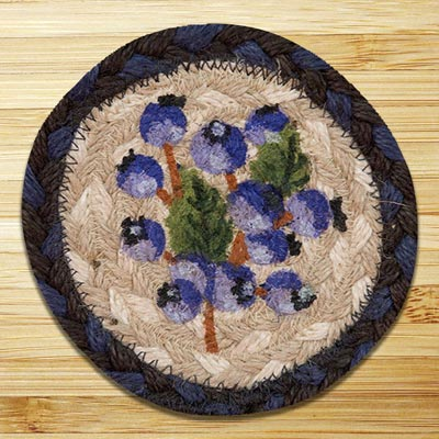 Blueberry Jute Coaster