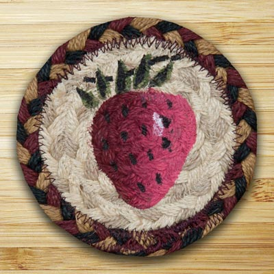 Strawberry Jute Coaster