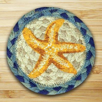 Star Fish Jute Coaster