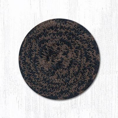 Mocha and Frappuccino Cotton Braid Coaster