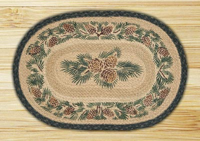 Pinecone Braided Placemat