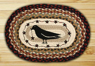Crow & Star Braided Placemat