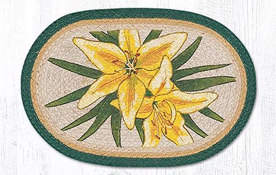 Yellow Lilies Placemat