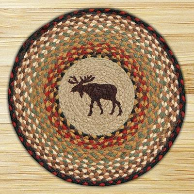 Moose Printed Chair Pad