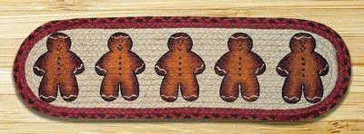 Gingerbread Men Printed Stair Tread