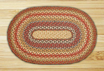 Honey, Vanilla, and Ginger Braided Jute Placemat