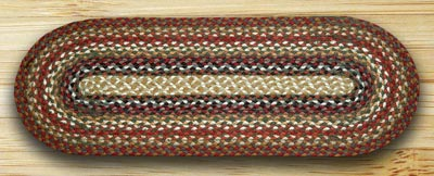 Honey, Vanilla, and Ginger Jute Tablerunner - 36 inch