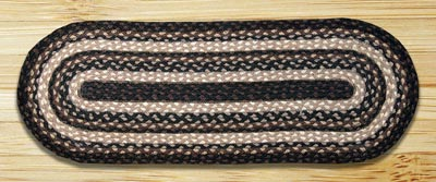 Mocha and Frappuccino Jute Tablerunner - 36 inch