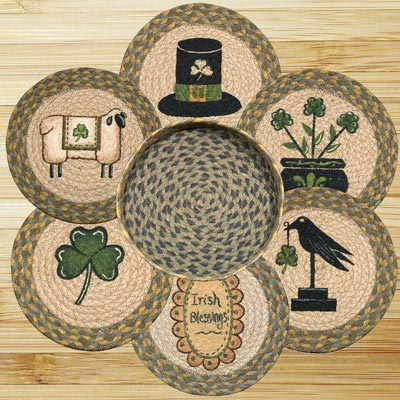 Irish Braided Trivet Set