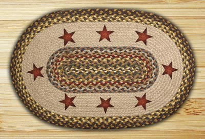 The Braided Rug Shop Braided Rugs With Artwork Oval Braided