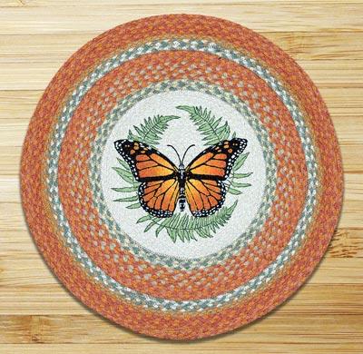 Monarch Round Braided Rug