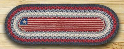 Flag Braided Jute Table Runner - 36 inch