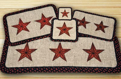 Barn Star Wicker Weave Tablemat