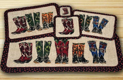 Boots Wicker Weave Tablemat