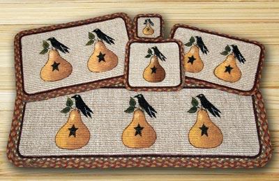 Pear & Crow Wicker Weave Tablerunner (36 inch)