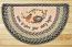 Robins Nest Half Moon Braided Jute Rug