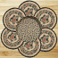 Pinecone Braided Trivet Set