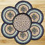 Blueberry Braided Trivet Set