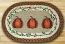 Harvest Pumpkin Oval Patch Braided Rug