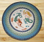 Mermaids Round Braided Rug
