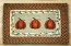 Harvest Pumpkin Rectangle Braided Jute Rug