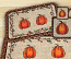 Harvest Pumpkin Wicker Weave Coaster