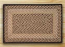 Chocolate and Natural Braided Jute Rug, Rectangle - 27 x 45 inch