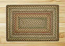 Fir and Ivory Braided Jute Rug, Rectangle - 20 x 30 inch